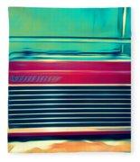 Retro Radio Fleece Blanket