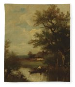 Return Of The Fisherman Fleece Blanket