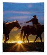 Returning Home Fleece Blanket