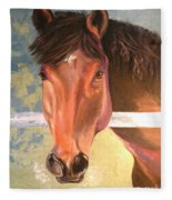 Reverie - Quarter Horse Fleece Blanket