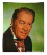 Rex Harrison, Actor Fleece Blanket