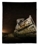 Reyes Shipwreck Fleece Blanket