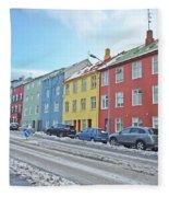 Reykjavik Street Iceland 2 3122018j2325.jpg Fleece Blanket