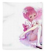 Rezero -starting Life In Another World- Fleece Blanket