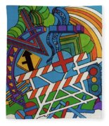 Rfb0519 Fleece Blanket