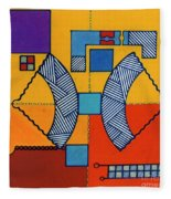 Rfb0554 Fleece Blanket