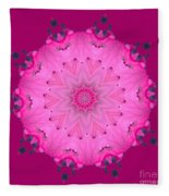 Rhoda Mandala 1 Fleece Blanket