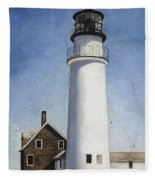 Cape Cod Light Fleece Blanket
