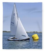 Rhodes 18 Rounding The Mark Fleece Blanket