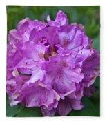 Rhododendron Elegance Fleece Blanket