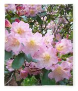 Rhododendron Flowers Garden Art Prints Floral Baslee Troutman Fleece Blanket