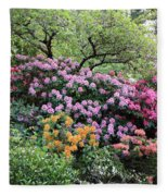 Rhododendron Hill Fleece Blanket