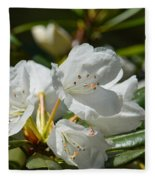 Rhododendron I Fleece Blanket