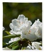 Rhododendron II Fleece Blanket