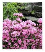 Rhododendrons Fleece Blanket