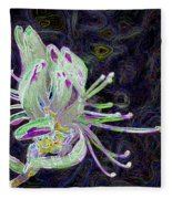 Rhodora-ism Fleece Blanket