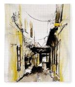 Rhodos City Fleece Blanket