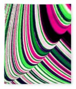 Rhythm 4 Fleece Blanket