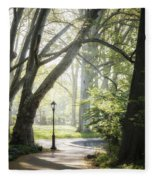 Rhythm Of The Trees Fleece Blanket
