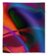 Rhythmic Trance Fleece Blanket