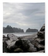 Rialto Beach Fleece Blanket