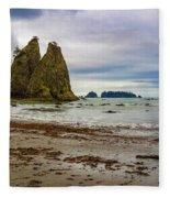 Rialto Beach Fleece Blanket