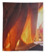 Ribbons - Cave Fleece Blanket