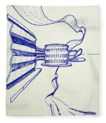 Ribbons Fleece Blanket