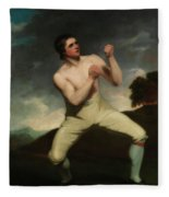 Richard Humphreys, The Boxer                                     Fleece Blanket