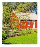 Richard Hunnewell House, Scarborough Maine Fleece Blanket