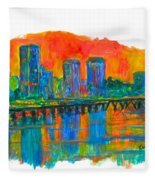 Richmond Gold  Fleece Blanket