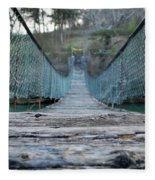 Rickety Bridge Fleece Blanket