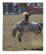 Ride Em Cowboy Fleece Blanket