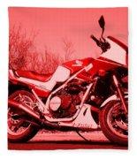 Ride Red Fleece Blanket