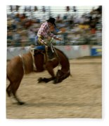 Ridem Cowboy Fleece Blanket