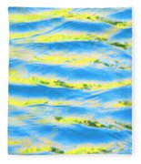 Riding A Wave Fleece Blanket