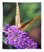 Right At You Fleece Blanket
