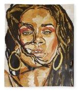 Rihanna Fleece Blanket