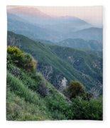 Rim O' The World National Scenic Byway II Fleece Blanket