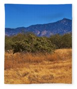 Rincon Peak, Tucson, Arizona Fleece Blanket