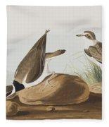 Ring Plover  Fleece Blanket