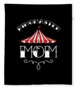 Birthday Circus Carnival Mom Party Apparel Fleece Blanket