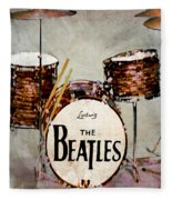 Ringo's Drums Fleece Blanket
