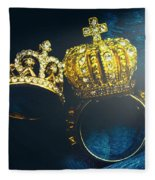 Rings Of Nobility Fleece Blanket
