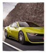 Rinspeed Etos Concept Self Driving Car Fleece Blanket