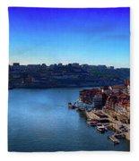 Rio Douro Fleece Blanket