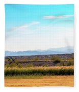 Rio Grande Flood Plain Fleece Blanket