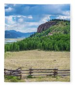 Rio Grande Headwaters #2 Fleece Blanket