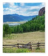 Rio Grande Headwaters Fleece Blanket