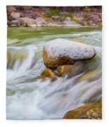 Rio Grande Rocky Flow Fleece Blanket